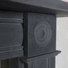 Georgian Style Natural Slate Bullseye Chimneypiece