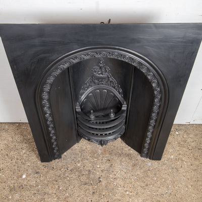 Antique Early Victorian Cast Iron Insert