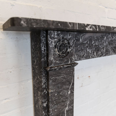 Antique Georgian St Anne's Marble Fireplace Surround - Antique Fireplaces London