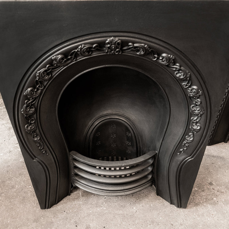 Antique Victorian Cast Iron Horseshoe Insert