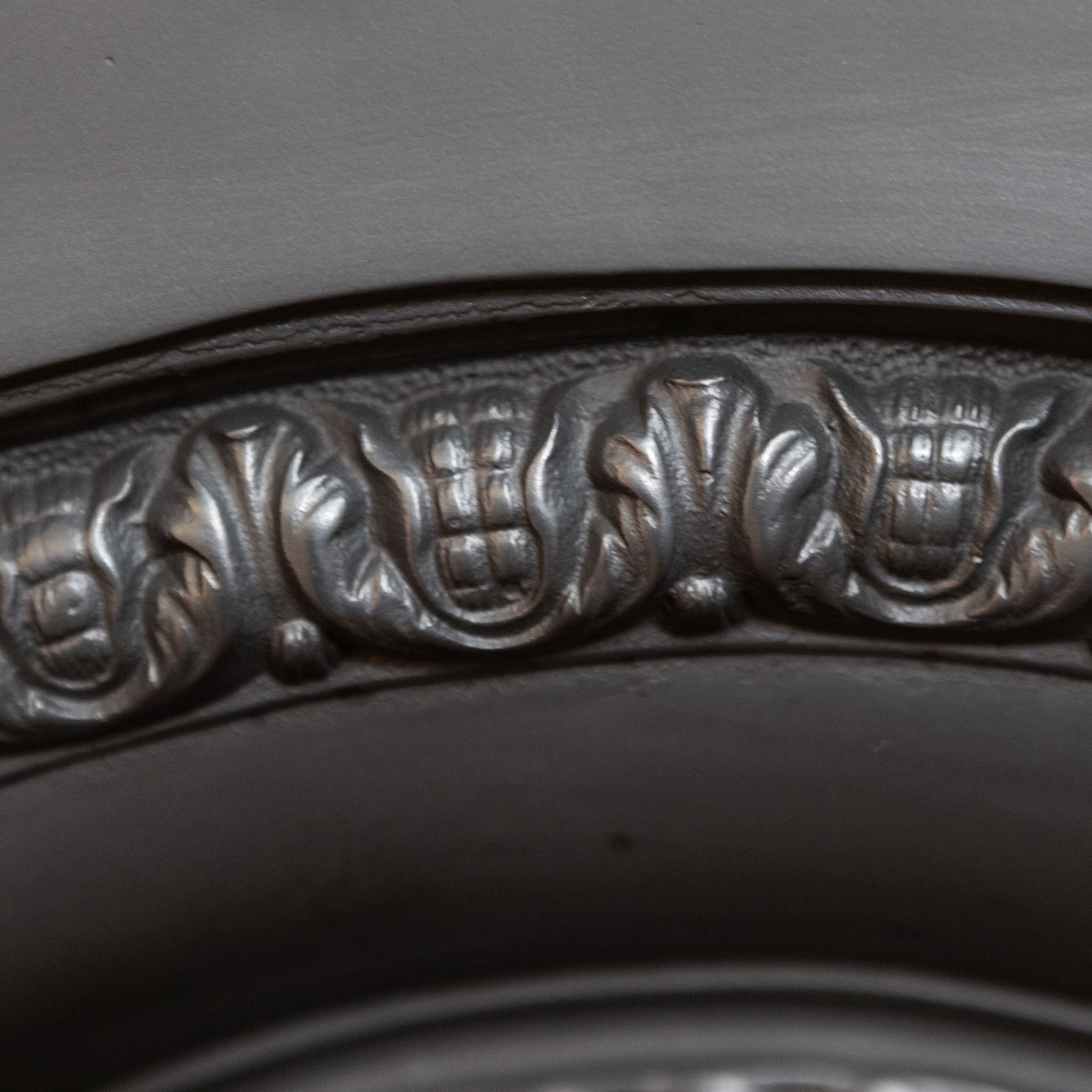 Antique Victorian Cast Iron Fireplace Insert | The Architectural Forum