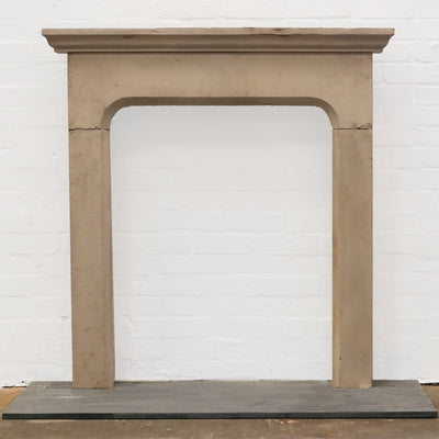 Antique Late 18th Century Yorkstone Fireplace Surround