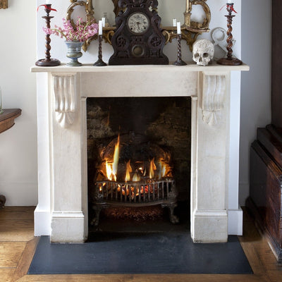 Black Slate Hearth - The Architectural Forum