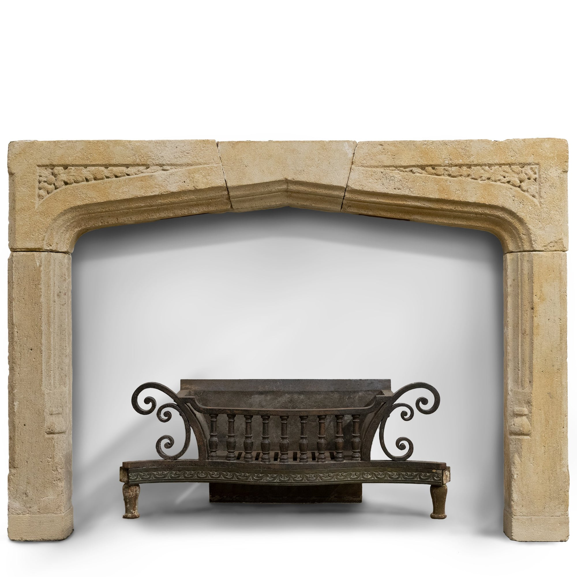 Antique Carved Stone Chimneypiece from King Edward VII Hospital London | The Architectural Forum?id=27974271336519