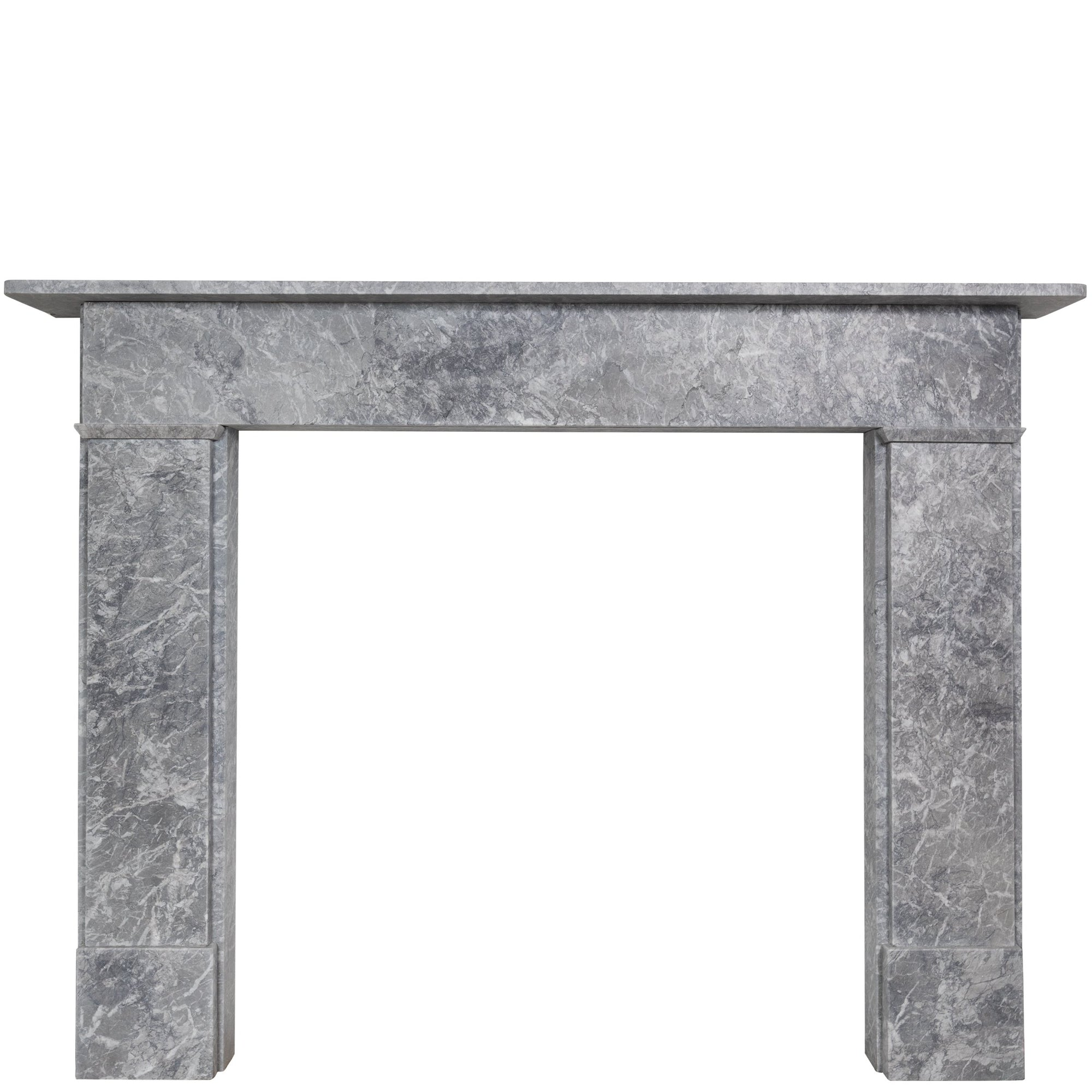 Late Georgian Style Surround with Grey Marble from Scotland Yard