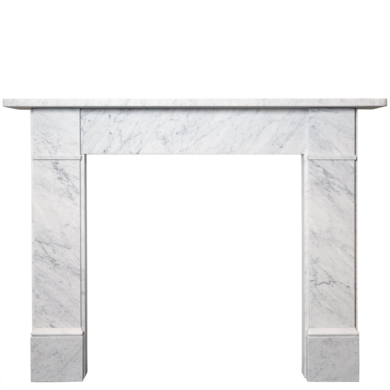 Georgian Style Carrara Marble Chimneypiece