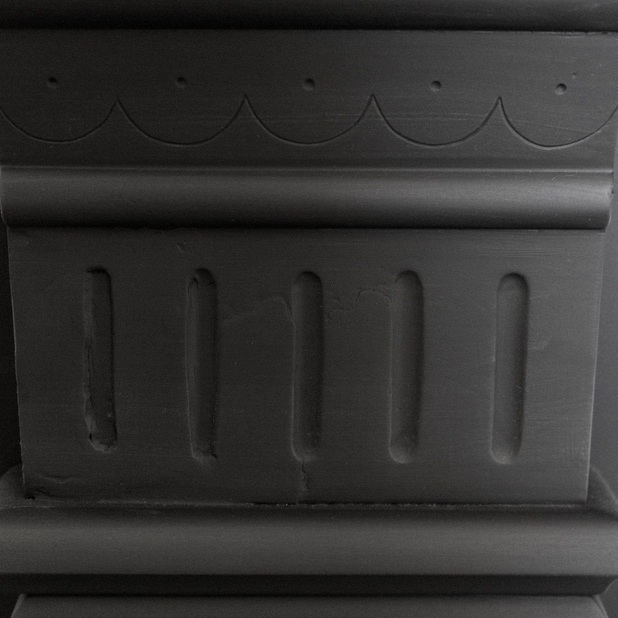 Antique Edwardian Slate Chimneypiece