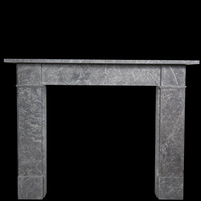 Victorian Style Grey Marble Fireplace Surround - Antique Fireplaces London