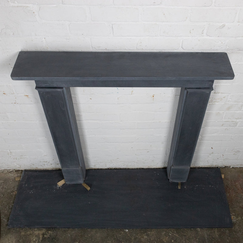 Late Georgian/Victorian Style Natural Slate Chimneypiece