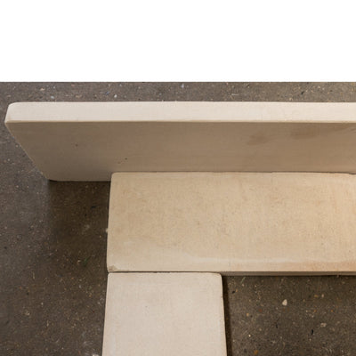 Mid 19th Century Bath Stone Fire Surround - Antique Fireplaces London