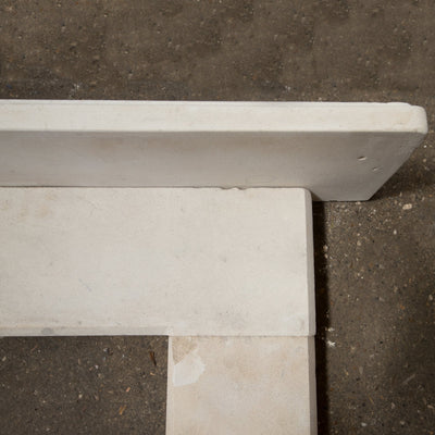 Mid 19th Century Limestone Fire Surround - Antique Fireplaces London