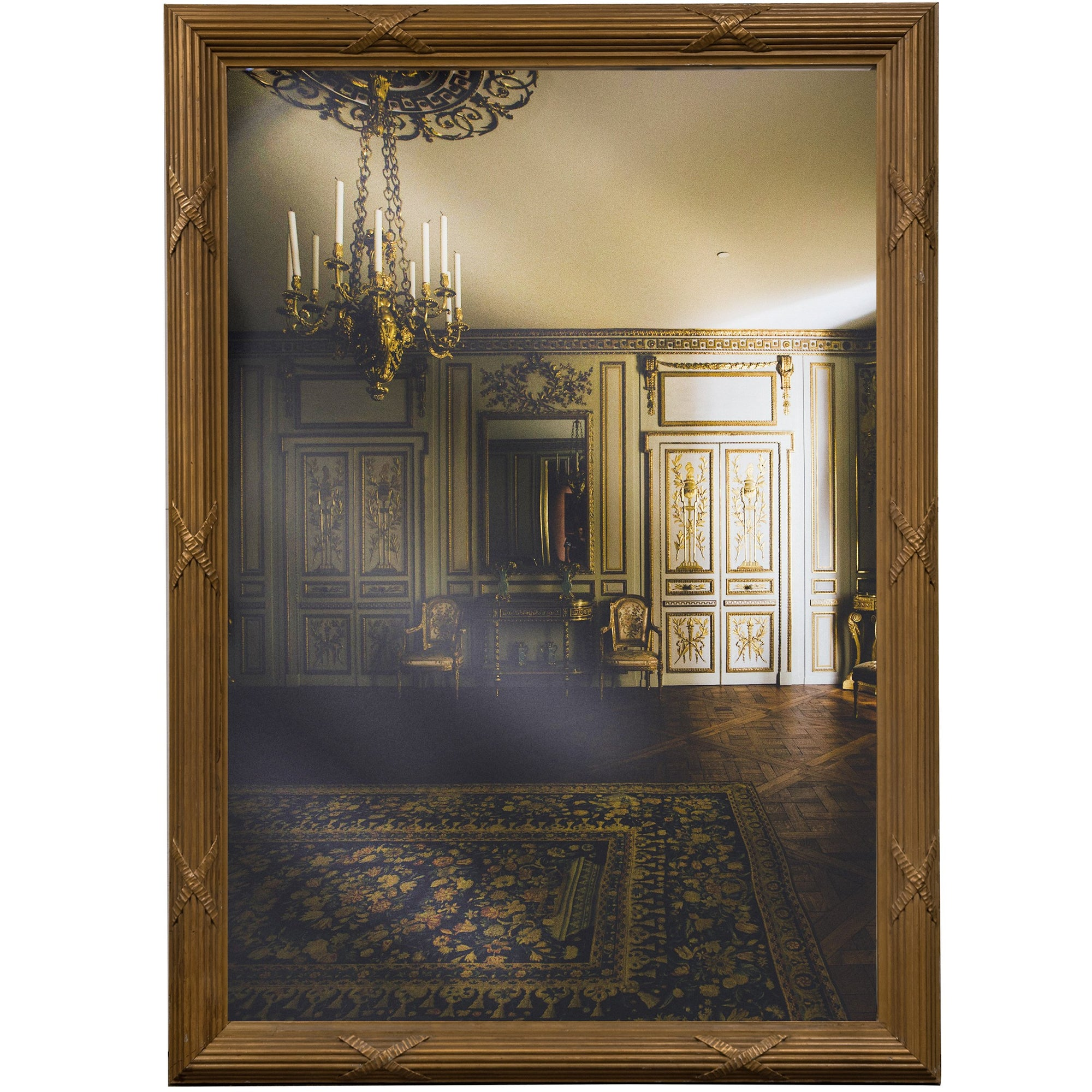 Large Victorian Frame with Antique Mirror | The Architectural Forum