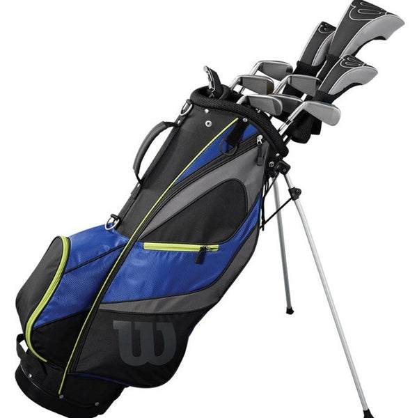 Wilson Mens Reflex LS Golf Package Set (Steel/Graphite)