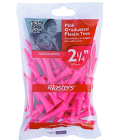 Master Plastic Graduated Castle Golf Tees