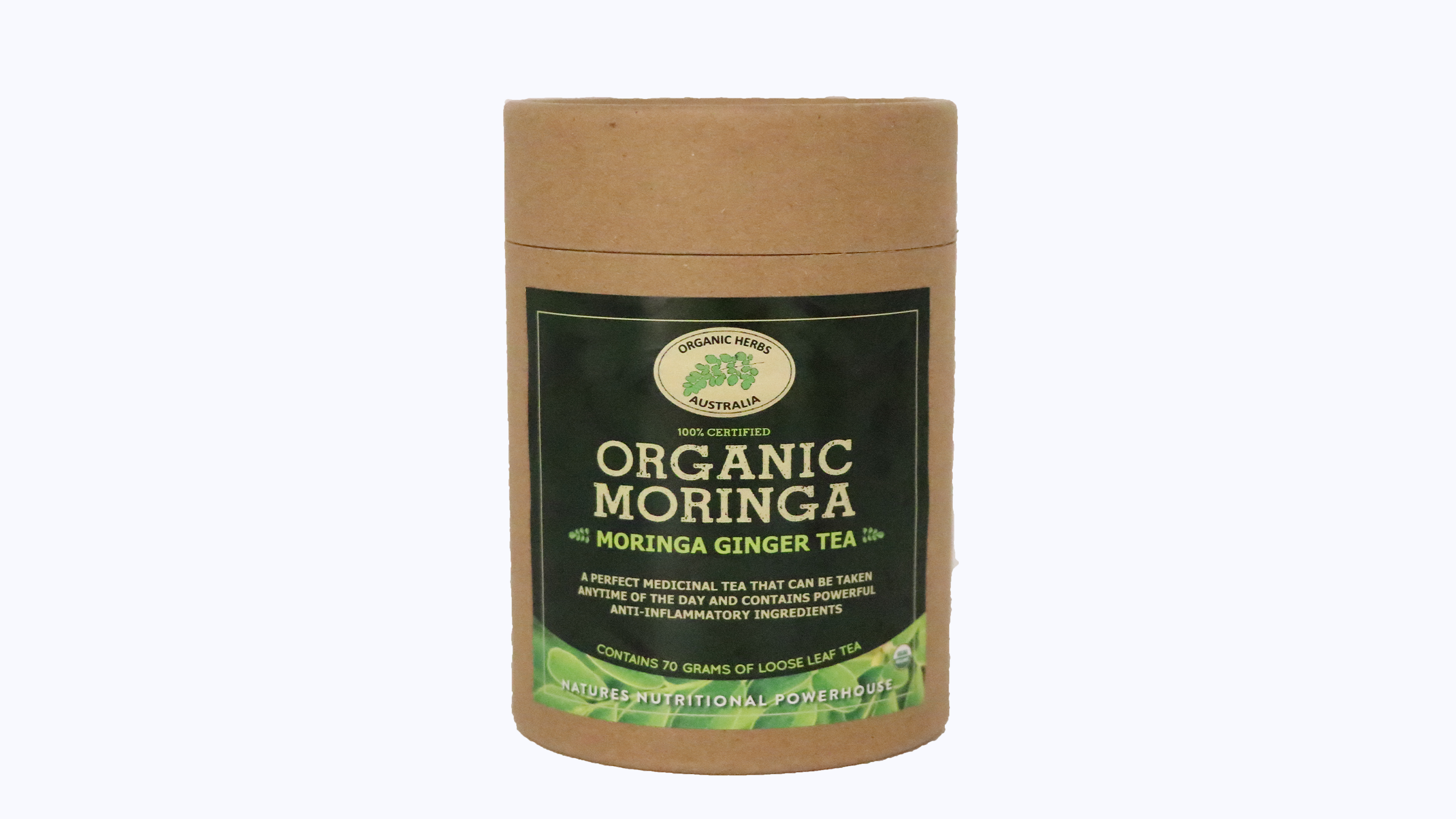 Moringa Ginger Loose Leaf Tea 70G