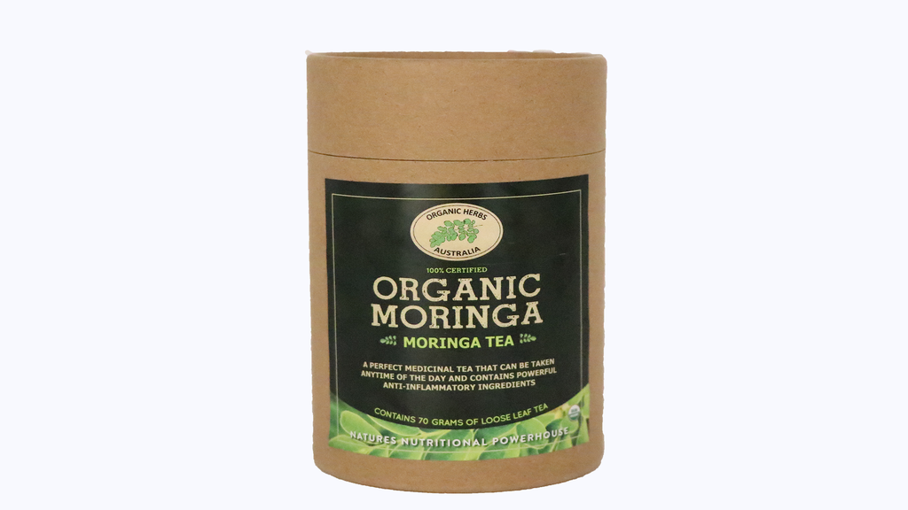 Moringa Loose Leaf Tea 70G