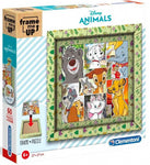 Clementoni Puzzle Disney Animals Junior 27 Cm Karton 61-Teilig