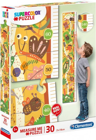 Clementoni Puzzle Measure Me The Bugs' House 30 Teile