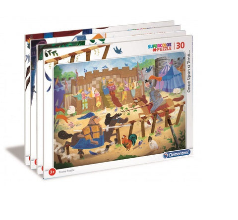 Clementoni Puzzle Once Upon A Time 120 Teile