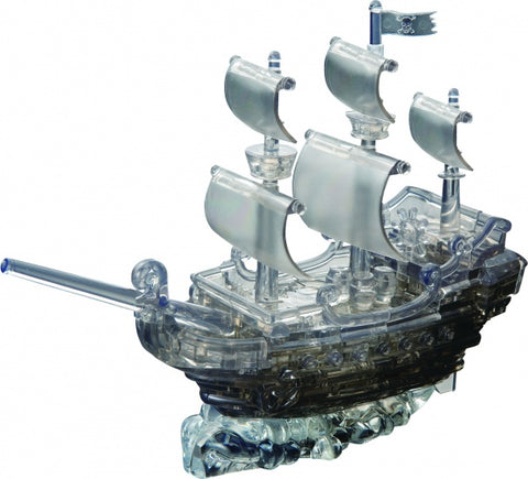 Crystal Puzzle 3D-Puzzle Piratenschiff  101-Teilig