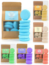 Load image into Gallery viewer, Shower Steamers - Natural Menthol & Camphor (8 Pack) - 5 Scents