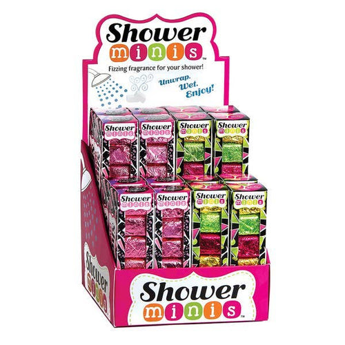 Shower Mini Steamers - 6 pack (7 scents)