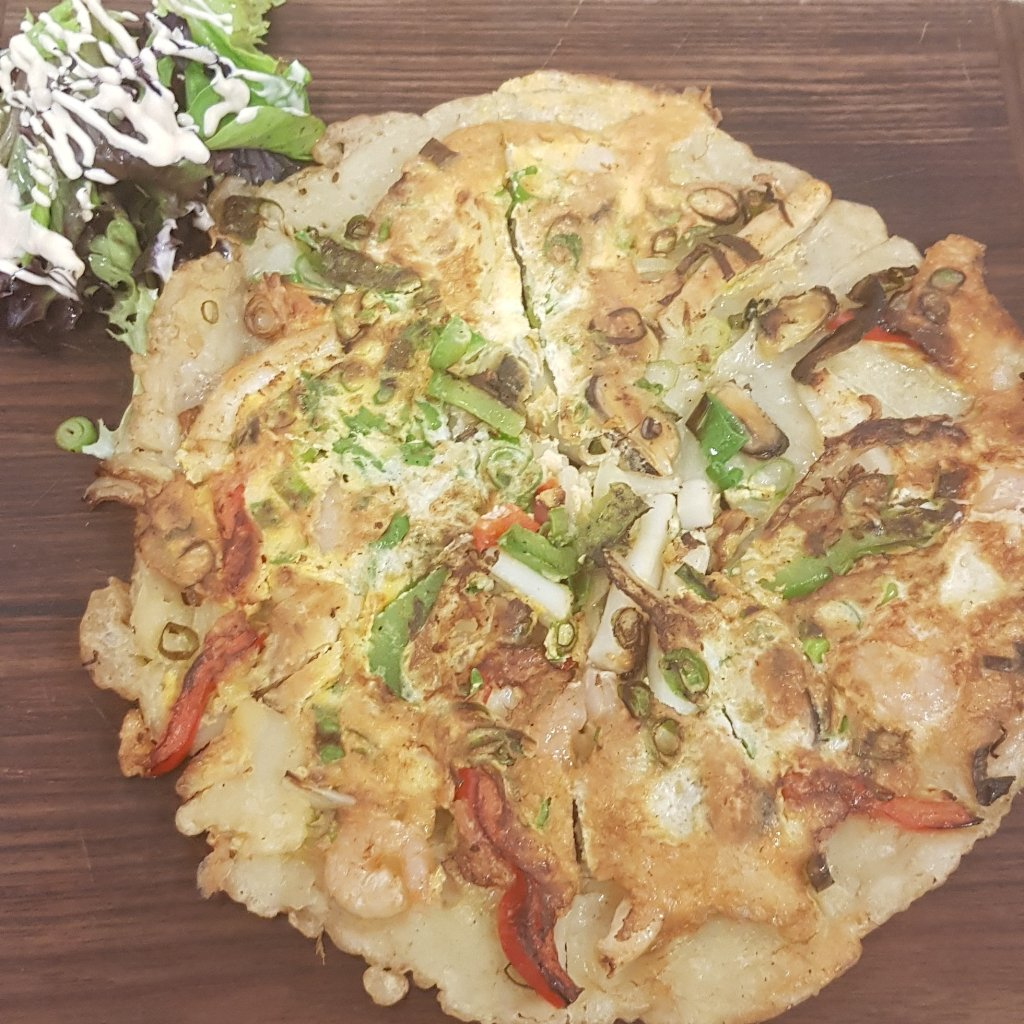 5. Vegetable Pancake - Apollo Bay Cup bob Australia | Restaurant