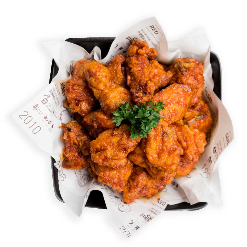 10. Seasoned hot spicy chicken | Apollo Bay Cup Bob - Apollo Bay Cup bob Australia | Restaurant
