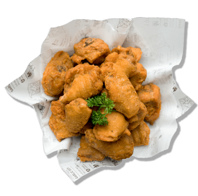 7. Crispy Fried Chicken