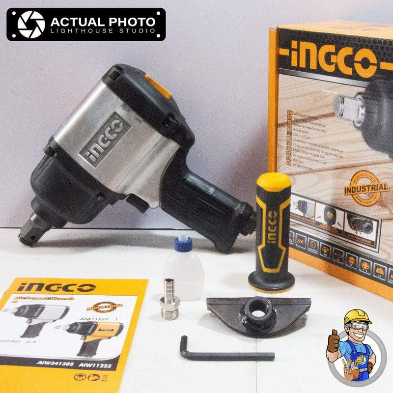 Ingco 3/4″ Air Impact Wrench - AIW341302 | Supply Master | Accra, Ghana Tools Building Steel Engineering Hardware tool