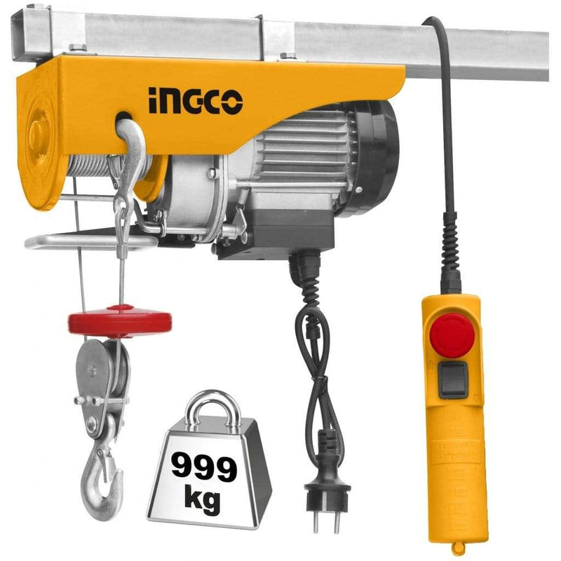 Ingco Electric Hoist 900W - EH5001 | Supply Master | Accra, Ghana Tools Building Steel Engineering Hardware tool