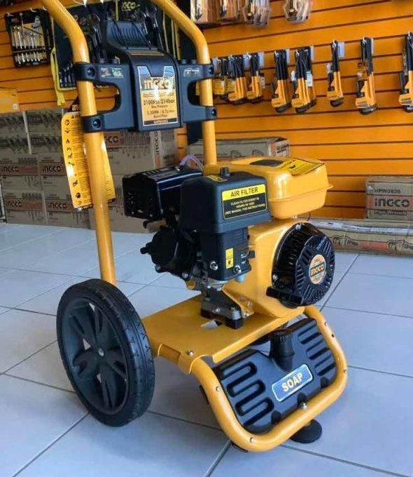 Ingco Gasoline Pressure Washer 6.0HP (214 BAR) - GHPW2003 | Supply Master | Accra, Ghana Tools Building Steel Engineering Hardware tool
