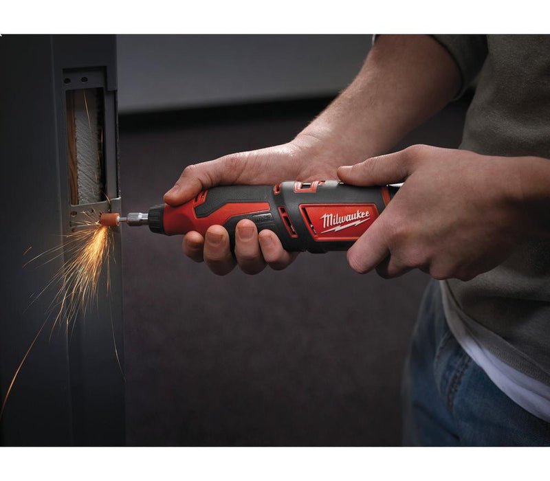 Milwaukee M12™ Sub Compact Cordless Rotary Tool 12V - C12 RT-0 | Supply Master | Accra, Ghana Tools Building Steel Engineering Hardware tool