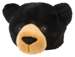 Black Bear Stuffed Animal Hat