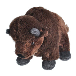 Bison Stuffed Animal - 8""
