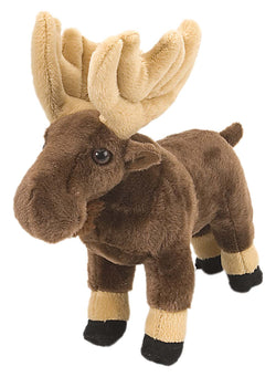 Moose Stuffed Animal - 8""