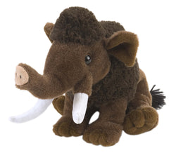 Wooly Mammoth Stuffed Animal - 8""