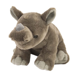 Rhino Stuffed Animal - 12""