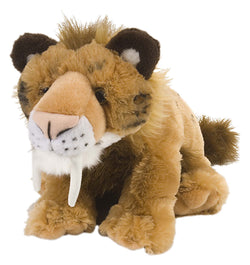 Smilodon Stuffed Animal - 12""