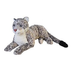 Snow Leopoard Stuffed Animal - 30""