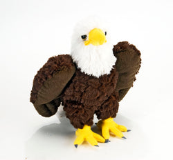 Bald Eagle Stuffed Animal - 8""