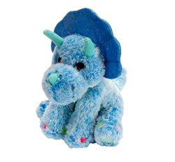 Colorful Triceratops Stuffed Animal - 12""