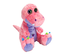 Colorful T-Rex Stuffed Animal - 12""