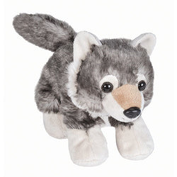 Wolf Stuffed Animal - 7""