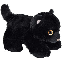 Black Cat Stuffed Animal - 7""
