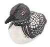 Audubon II Common Loon Stuffed Animal with Sound - 5""