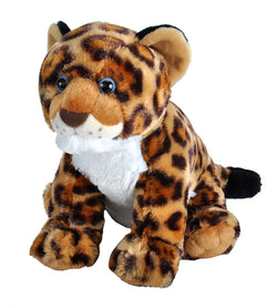 Jaguar Cub Stuffed Animal - 12""