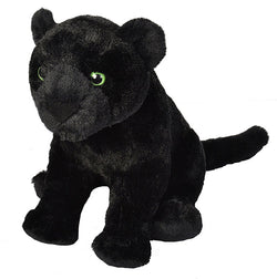 Black Jaguar Stuffed Animal - 12""