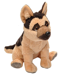 German Shepherd Stuffed Animal - 12""