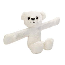 Huggers Polar Bear Stuffed Animal - 8